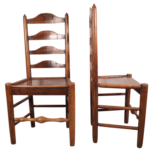 Pair of Elm Chairs