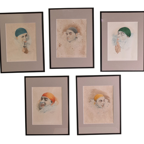 Pierrot Lithographs