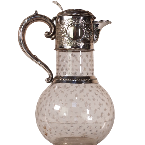 Glass Claret Jug