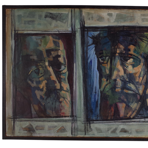 Triptych of Three Men