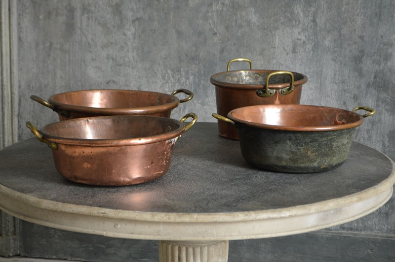 A selection of large French cooking pans-french-loft-D1854.B-main-636605490284352163.jpg