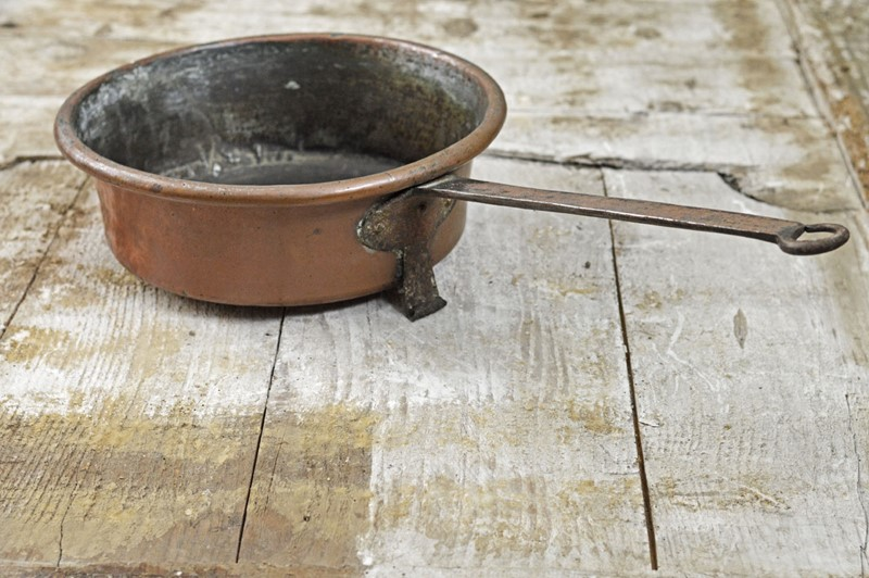 French 18th Century copper pan -french-loft-h2690b-main-637410190679940979.jpg