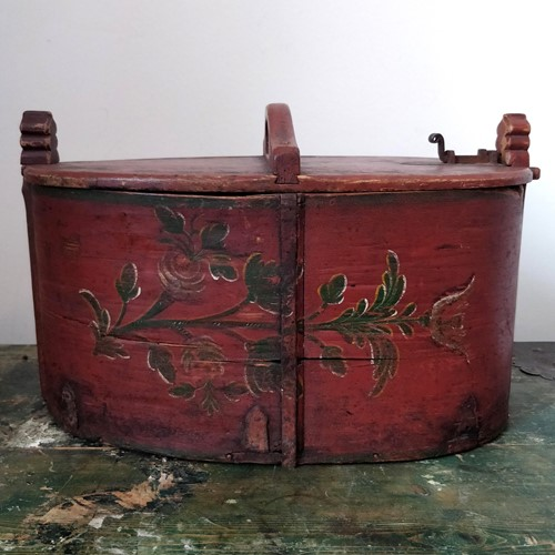 Antique Swedish box dated 1817
