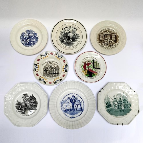 Collection of 19th Century Childrens plates