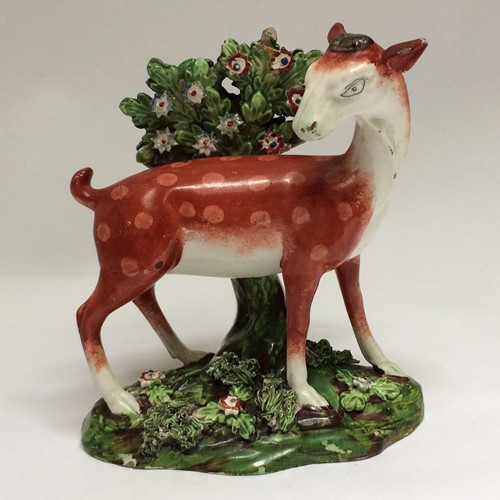 Early 19th Century Staffordshire Deer