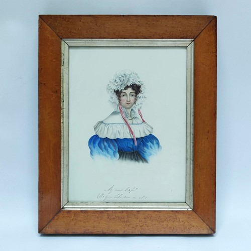 Early 19th Century Watercolour Portrait