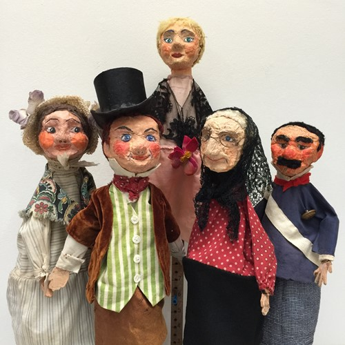 Fabulous Set Of French Puppets