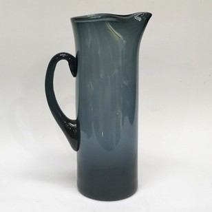 1950s smoked glass jug