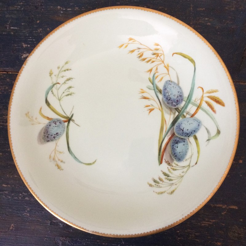 'Blackbird Eggs' 19th Century Brownfield Plate-general-store-no-2-5-main-637306775496560846.JPG