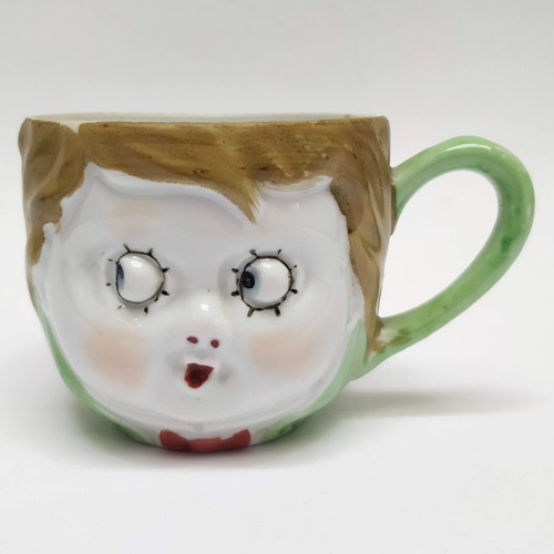 1920's Cheeky face cup
