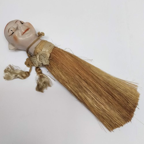 1920's Japanese Clown Crumb brush