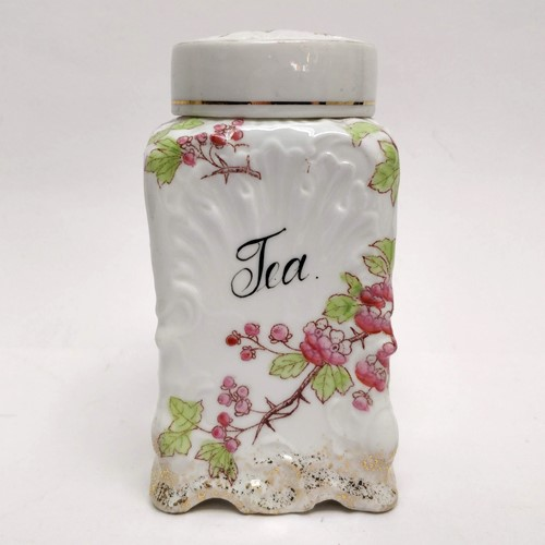 Pretty Porcelain Tea Cannister