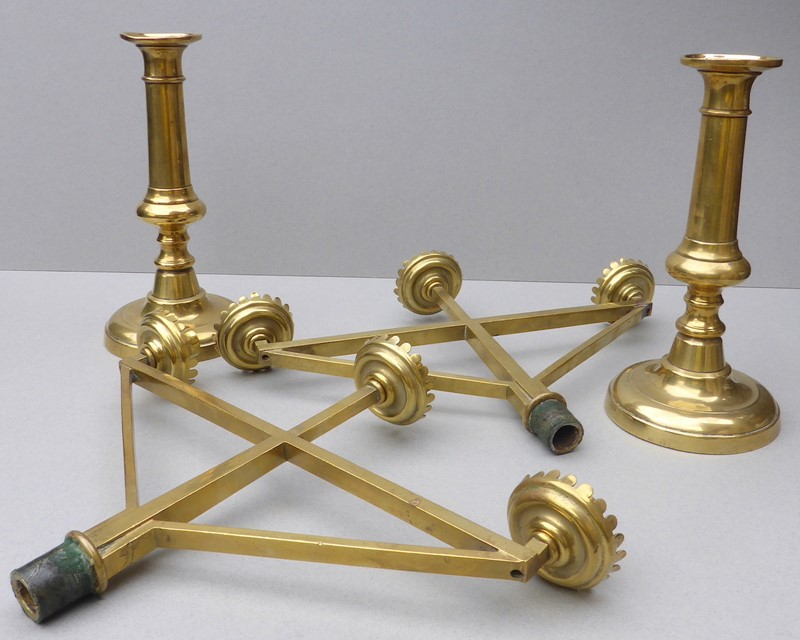 Pair Gothic Revival Ecclesiastical Candlesticks-ginger-tom-s-ce182h-hoarde-main-636898014326517494.JPG
