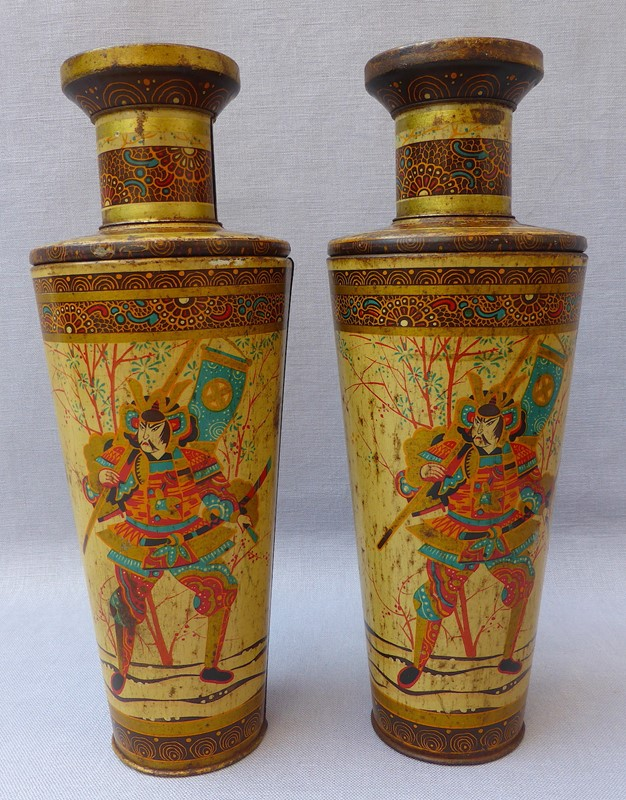 Antique pair oriental vase toleware biscuit tins -ginger-tom-s-curious-eclectic-ce137c-hoarde-main-636927781723528344.JPG