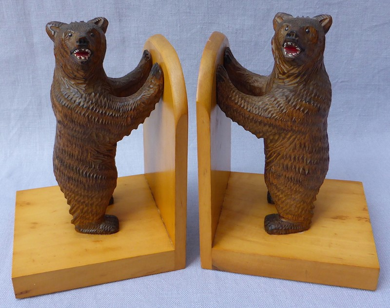 Pair of mid 20thC Black Forest bear bookends-ginger-tom-s-curious-eclectic-ce179b-hoarde-main-637007031954765264.JPG
