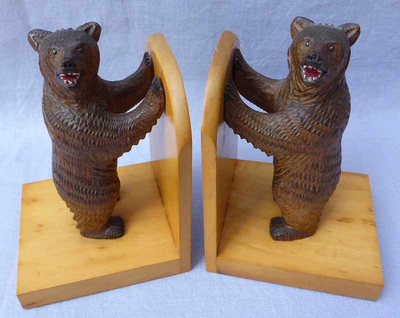 Pair of mid 20thC Black Forest bear bookends-ginger-tom-s-curious-eclectic-ce179c-hoarde-main-637007031961796013.JPG