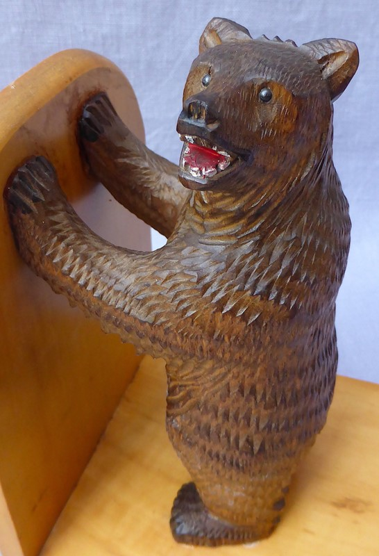 Pair of mid 20thC Black Forest bear bookends-ginger-tom-s-curious-eclectic-ce179e-hoarde-main-637007031976483479.JPG