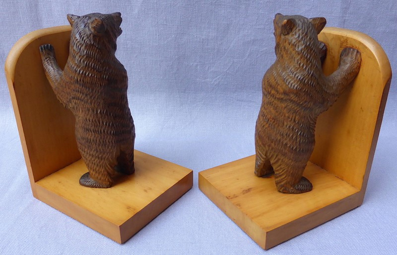 Pair of mid 20thC Black Forest bear bookends-ginger-tom-s-curious-eclectic-ce179h-hoarde-main-637007031996952935.JPG