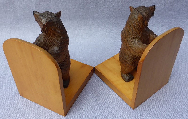 Pair of mid 20thC Black Forest bear bookends-ginger-tom-s-curious-eclectic-ce179i-hoarde-main-637007032005389816.JPG