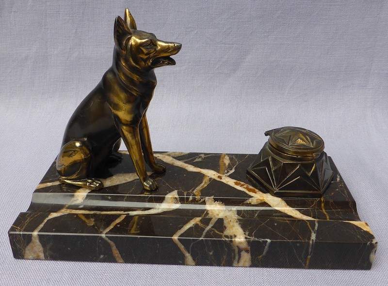 Art Deco French Alsatian ink stand-ginger-tom-s-curious-eclectic-ce289b-hoarde-main-637021688696374756.JPG
