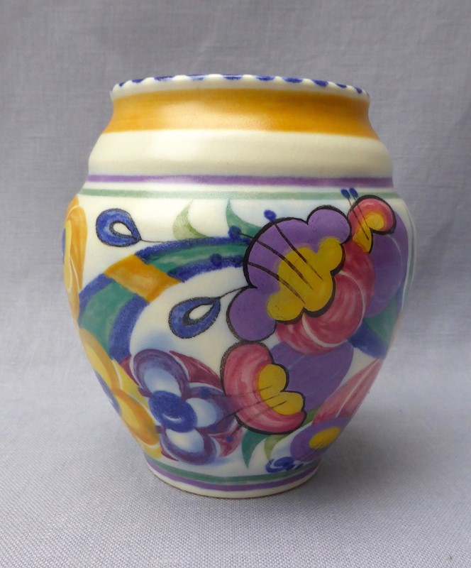 1930s Poole Pottery Fuchsia Vase-ginger-tom-s-curious-eclectic-ce464a-hoarde-main-637211866327099165.JPG