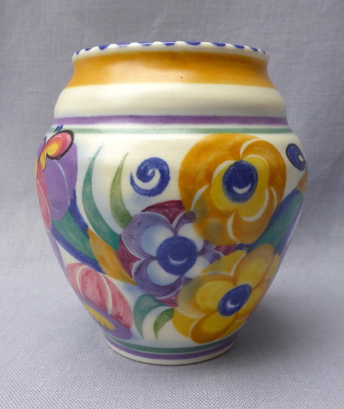 1930s Poole Pottery Fuchsia Vase-ginger-tom-s-curious-eclectic-ce464b-hoarde-main-637211866481942217.JPG