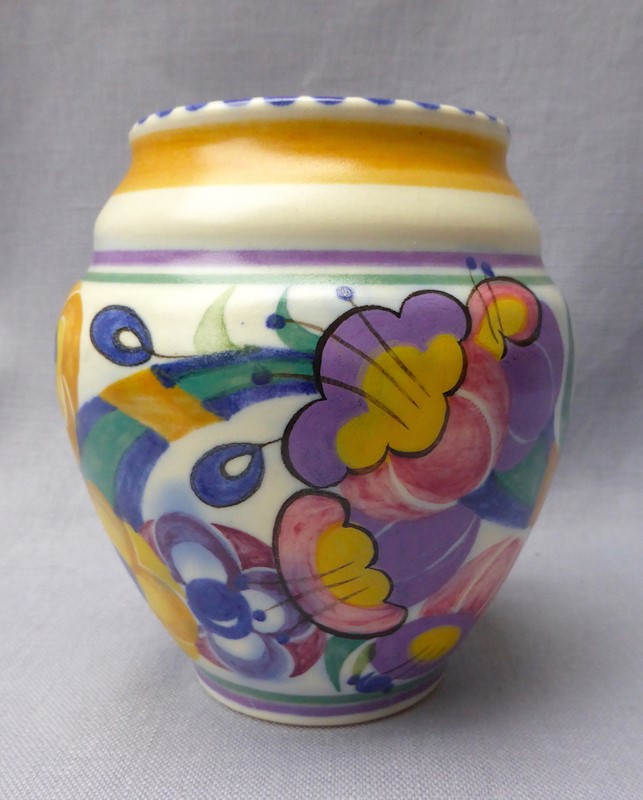 1930s Poole Pottery Fuchsia Vase-ginger-tom-s-curious-eclectic-ce464c-hoarde-main-637211866488660570.JPG
