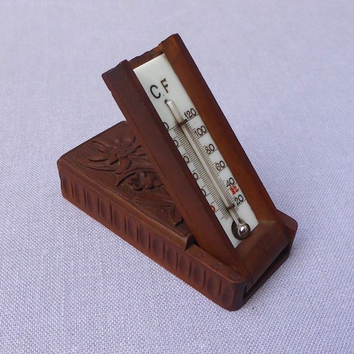 A Black Forest Travel Thermometer