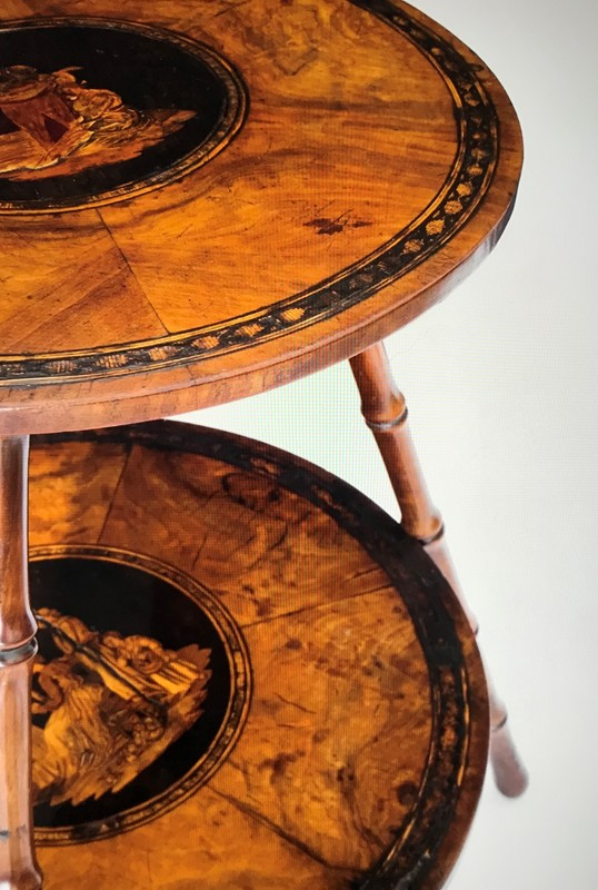 19th Century Olive Wood Marquetry Gypsy Table-gloves-off-antiques-fullsizeoutput_3bd6-main-636668453473604360.jpeg