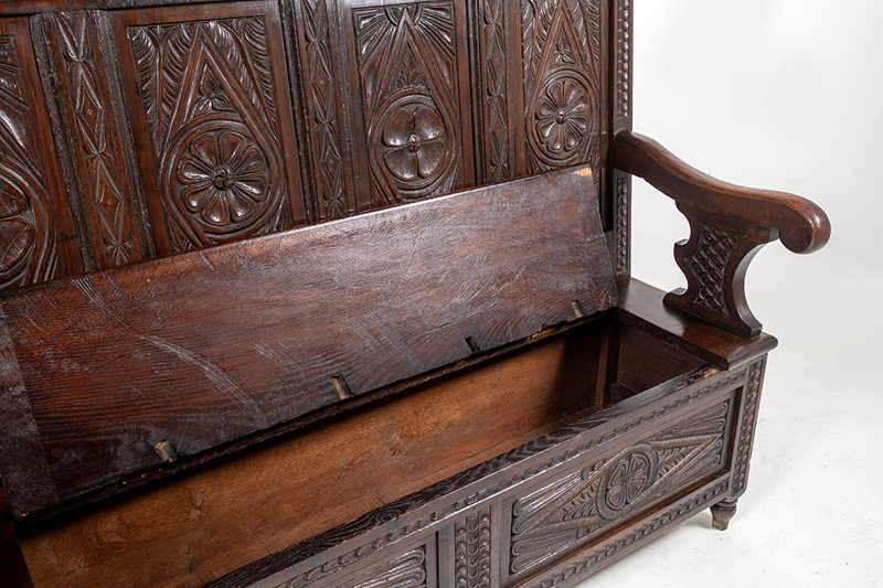 Aesthetic Carved Oak Box Settle-greencore-design-antique-carved-oak-box-settle-10-main-637368938529175656.jpg