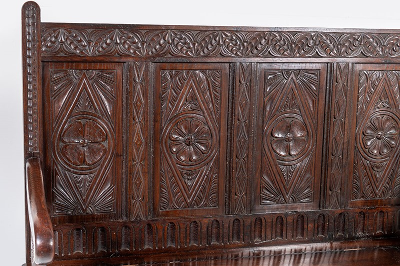Aesthetic Carved Oak Box Settle-greencore-design-antique-carved-oak-box-settle-8-main-637368938461500033.jpg