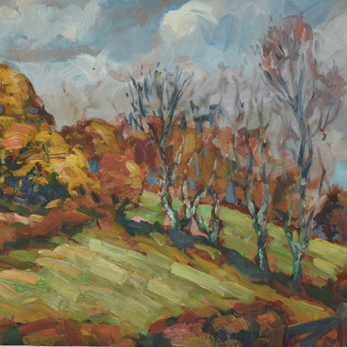 Bob Vigg Landscape Oil Painting West Cornwall