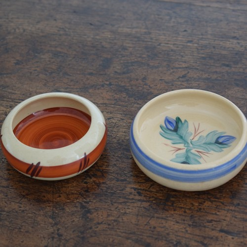 Two Compton Art Pottery Miniature Bowls