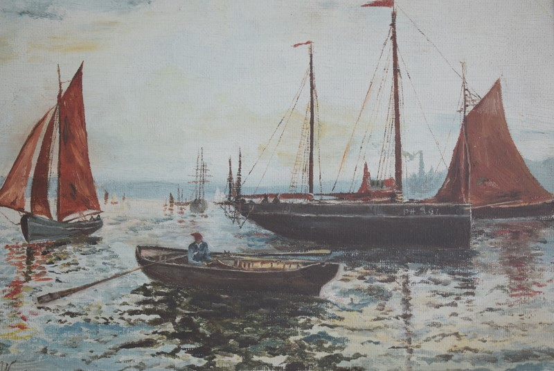 Oil Painting Plymouth Fishing Boats-grumbla-lane-dsc-5923-main-637529764523395134.JPG