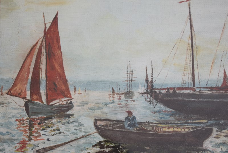 Oil Painting Plymouth Fishing Boats-grumbla-lane-dsc-5930-main-637529765370601050.JPG