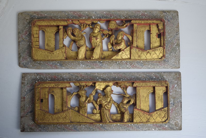 Antique Chinese Carved Wood Lacquered Gilt Panels-grumbla-lane-dsc-9086-main-637179909900989321.jpeg
