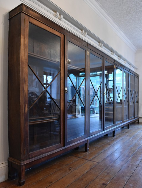 18 FOOT WIDE OAK DISPLAY CABINET-haes-antiques-18 FT WIDE HOS CABINET (11) FM_main_636459482238110346.jpg
