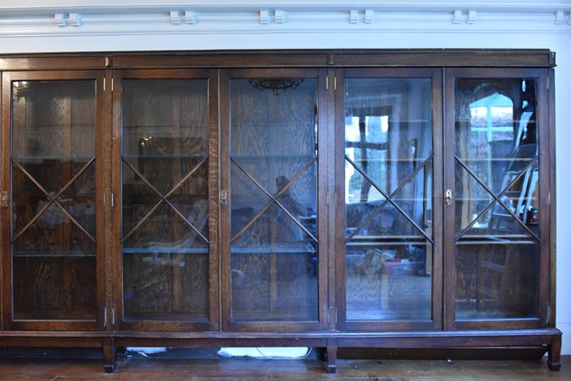 18 FOOT WIDE OAK DISPLAY CABINET-haes-antiques-18 FT WIDE HOS CABINET (19) FM_main_636459482294429234.JPG