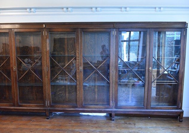 18 FOOT WIDE OAK DISPLAY CABINET-haes-antiques-18 FT WIDE HOS CABINET (20) FM_main_636459482348720018.JPG