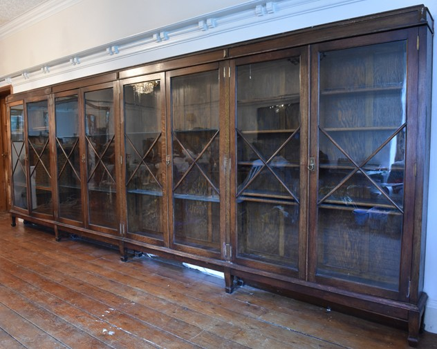 18 FOOT WIDE OAK DISPLAY CABINET-haes-antiques-18 FT WIDE HOS CABINET (23) FM_main_636459482401918746.jpg