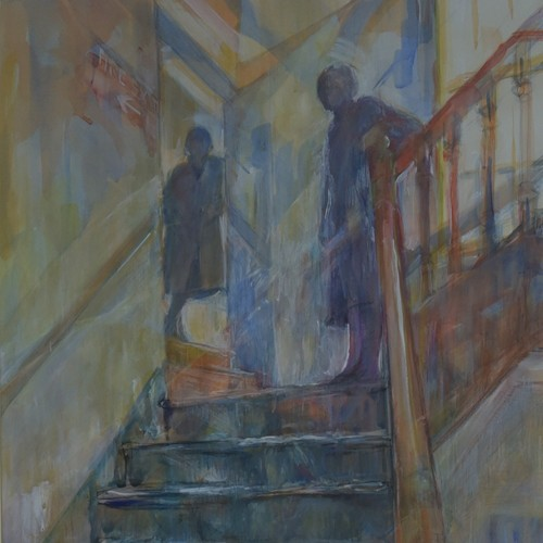"Jean Lunn - ""Stairwell"" Painting"