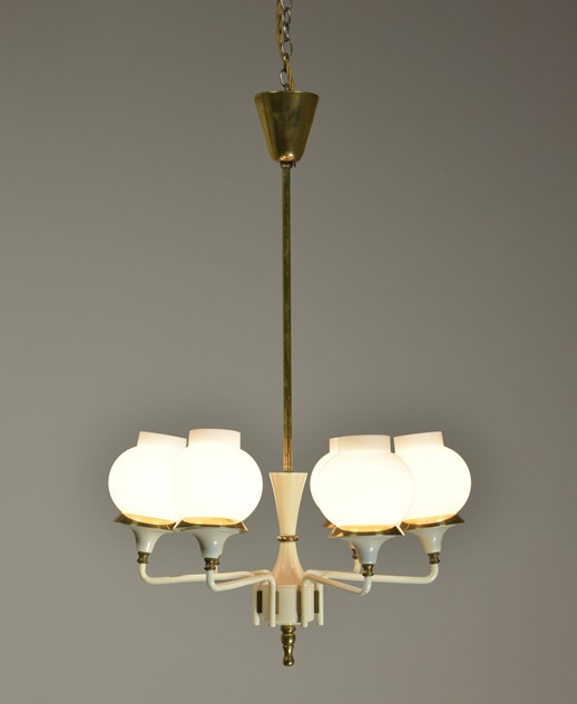 1950s 6 arm brass and glas chandelier-haes-antiques-DSC_7947 FM_main_636360628431571662.JPG