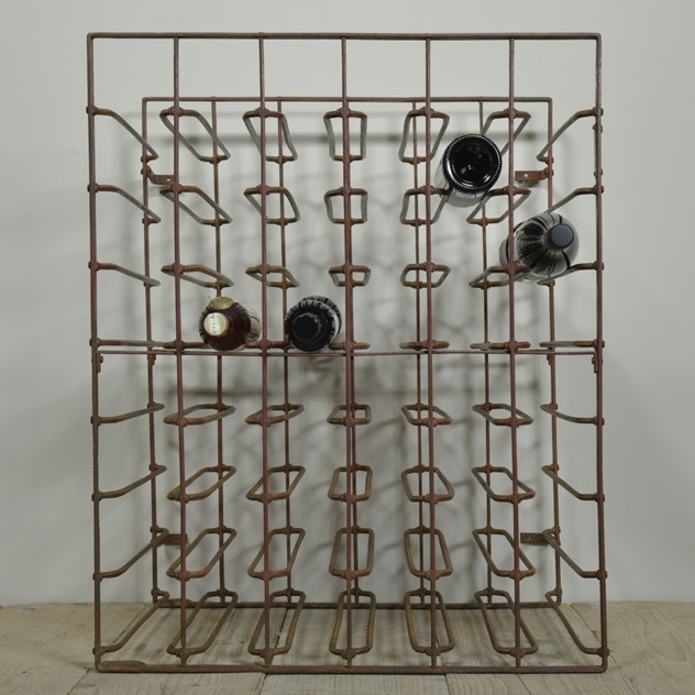 Antique wine rack Burrows Patent -haes-antiques-DSC_8869_main_636319169274678087.JPG