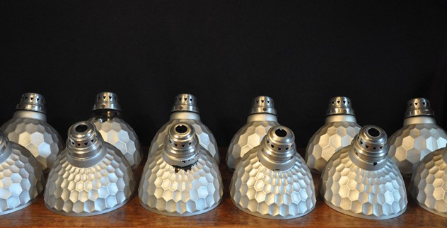Antique mirrored  honeycomb  pendant lights x16-haes-antiques-SILVERED GLASS SHADES (12)CR FM_main_636456947347768013.jpg