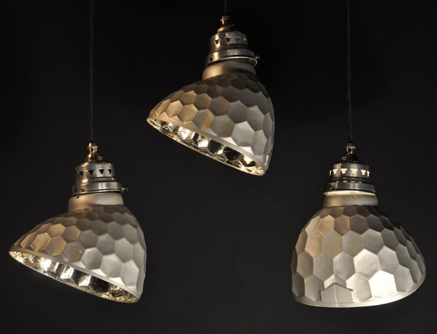 Antique mirrored  honeycomb  pendant lights x16-haes-antiques-SILVERED GLASS SHADES (61)CR FM_main_636456947498003717.jpg