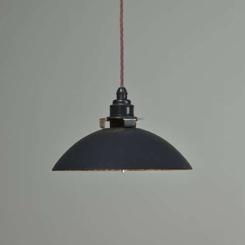 Antique Silvered Pendant Shades