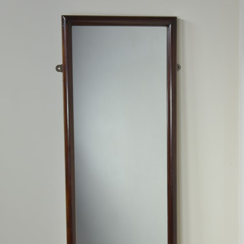 Mahogany Mercury Shop / Tailors Mirror