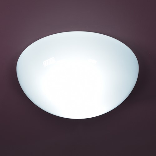 Domed Opaline  Surface Mount Lights - 14inch