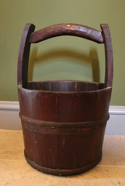 Antique Chinese Iron Bound Coopered Water Bucket-hand-of-glory-Chinese Water Bucket_main_636108435129320482.JPG