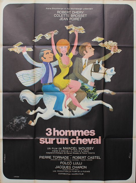 Large French Film Poster '3 Hommes Sur Un Cheval'-hand-of-glory-fullsizeoutput_3e7_main_636116170159309011.jpeg